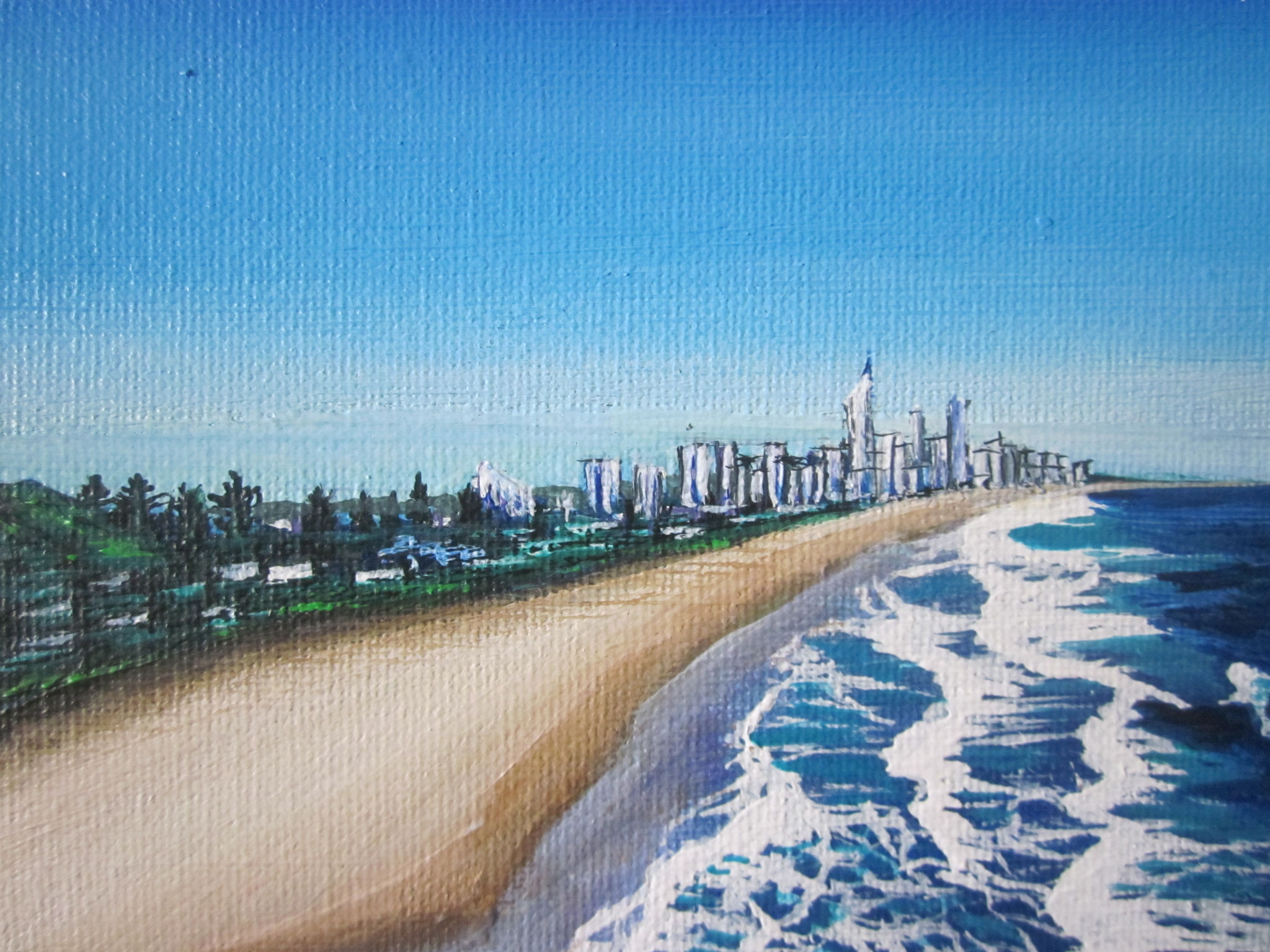 Burleigh Heads To Surfers Paradise By Charleen Morris